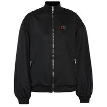 Jacke aus Baumwoll-Jersey