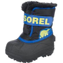 SOREL Winterstiefel 'SNOW COMMANDER' blau / gelb / schwarz