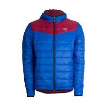 TAO Sportswear Atmungsaktive Herren Steppjacke / Wendejacke mit Kapuze FLIP JACKE Outdoorjacken blau/lila Herren