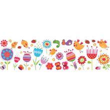 Wand und Fenster Sticker Birds & Flowers, L