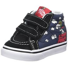Vans Unisex Baby Peanuts Sk8-Mid Reissue V Sneaker, Mehrfarbig (Flying Ace/Dress Blues Peanuts), 23.5 EU