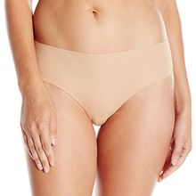 Hanro Damen Slip Invisible Cotton, Beige, 46/48 EU (Herstellergröße: L)