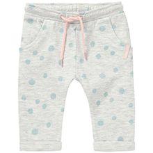 Noppies Baby-Mädchen Hose G Pant Sweat Tapered Dax, Blau (Ice Blue C142), 68