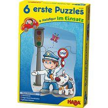 6 erste Puzzles - Im Einsatz