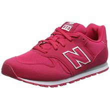 New Balance Unisex-Kinder Kj373y Sneaker, Pink, 31 EU