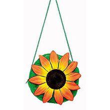 K80984770 grün mit Sonnenblume Damentasche Blumentasche