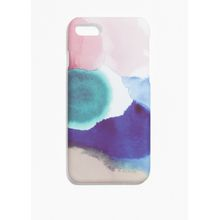 Cloud-Print Iphone 7 Case - Pink