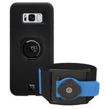 Quad Lock - Run Kit - Samsung Galaxy S8+ schwarz/blau