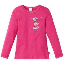 Schiesser Mädchen Unterhemd Prinzessin Lillifee 1/1, Gr. 116, Rot (pink 504)