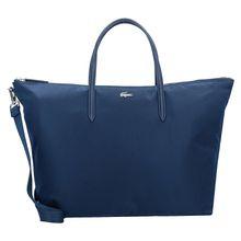 LACOSTE L.12.12 Concept SStrap L Shopper Tasche 34 cm blau Damen