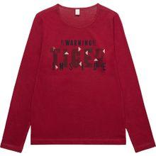 ESPRIT Langarmshirt rosa / rot