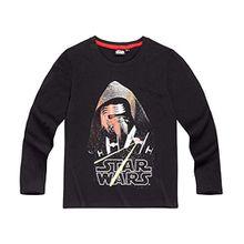 Star Wars-The Clone Wars Darth Vader Jedi Yoda Jungen Langarmshirt - schwarz - 116