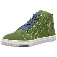 Richter Kinderschuhe Mose 6242-521, Jungen Hohe Sneakers, Grün (cactus/ink 5901), 35 EU