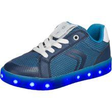 GEOX Blinkies 'Kommodor' blau / himmelblau / weiß