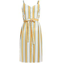 khujo Kleid LOTUS Sommerkleider gelb Damen