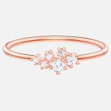 Penélope Cruz Moonsun Ring, weiss, Rosé vergoldet
