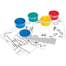 Simba Dickie Art & Fun Malen mit Fingermalfarben