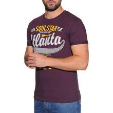 Soul Star T-Shirt in lila für Herren