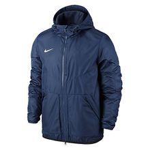 Nike Trainingsjacke Team Fall Jacket mit verstellbarer Kapuze 645905 Outdoorjacken dunkelblau Jungen Kinder