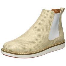 SHOOT Damen Chelsea Boots, Beige (Latte Machiato), 38 EU