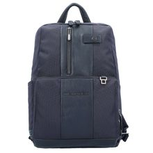 Piquadro Brief Business Rucksack 38 cm Laptopfach blau