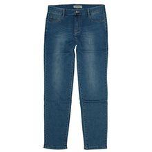 BigSpade Damen Stretch Röhren Jeans Hose B6555 (A), jeansblue used, Gr.48 W38