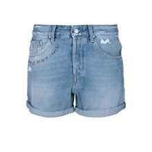REPLAY Shorts PALMEN Shorts hellblau Damen
