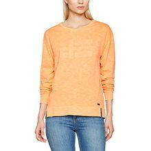 Napapijri Damen Sweatshirt Boxley, Orange (Mango Juice A03), X-Large