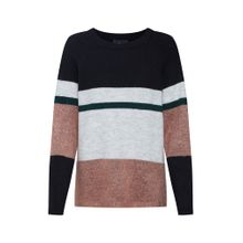 OBJECT Pullover braun / grau / schwarz