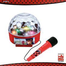 Miraculous Lichtball und Mikrofon bunt