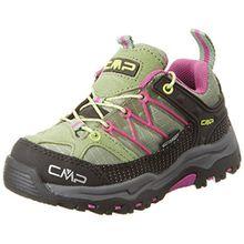 CMP Unisex-Kinder Rigel Trekking-& Wanderhalbschuhe, Grün (Salvia), 32 EU