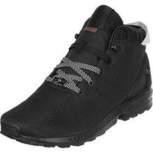Adidas Boots Men ZX Flux 5/8 S75943 Schwarz Schwarz, Schuhgröße:44