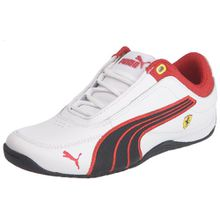 Puma Jr Drift Cat 4 L Sf, Jungen Sneaker, Weiß - Blanc (01) - Größe: 38 EU