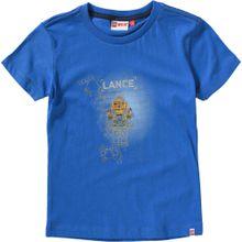 LEGO WEAR T-Shirt 'Nexo Knights' blau / goldgelb / weiß