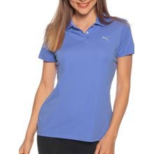Puma Poloshirt in lila für Damen