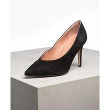 tigha Damen Schuhe Aura schwarz (goat suede black)