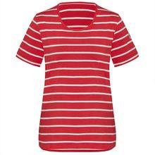 TAO Sportswear Damen Kurzarm Shirt Bio-Baumwolle SELDA T-Shirts dunkelrot Damen