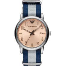Emporio Armani Uhr nachtblau / rosa / silber