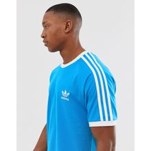 adidas Originals - California - Blaues T-Shirt - Violett