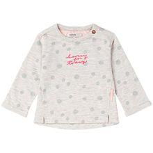 Noppies Baby-Mädchen Sweatshirt G Sweater Dunkirk, Blau (Ice Blue C142), 56