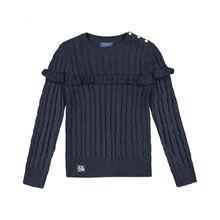 Polo Ralph Lauren Mädchen-Pullover - Blau (92, 104, 110, 116, 122, S)