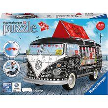 3D-Puzzle VW Bus T1, 30x14x15 cm, 162 Teile, Food Truck