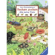 Ravensburger Mein Riesenbilderbuch Sachen suchen - Alle meine Tiere