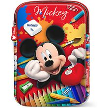 Tablettasche Mickey Mouse Crayons rot