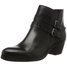 Tamaris Damen 25319 Biker Boots, Schwarz (Black 001), 38 EU