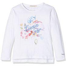 Pepe Jeans Mädchen T-Shirt Adalie Jr, Weiß (Off White), 10 Jahre