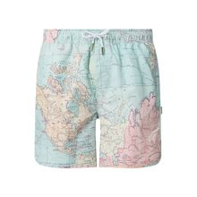 Shorts mit Allover-Muster