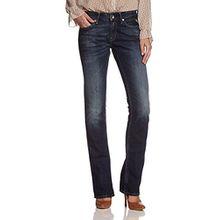 Replay Damen Straight Fit Jeans Nadie WX670, Blau (9), 26W/32L