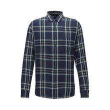 Slim-Fit Hemd mit Patchwork-Karo