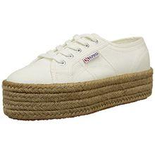 Superga 2790 Cotropew Damen Sneaker, Weiß, 39 EU